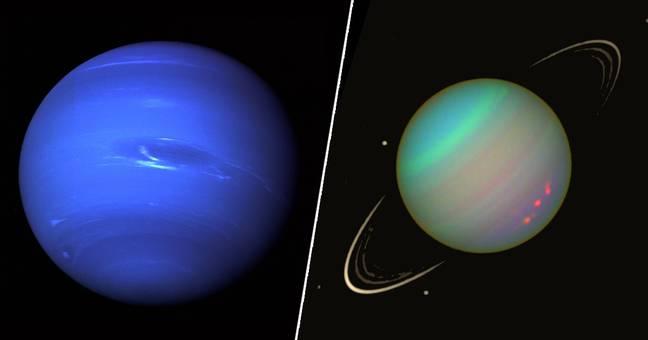 Neptune Uranus_PA_and_NASA
